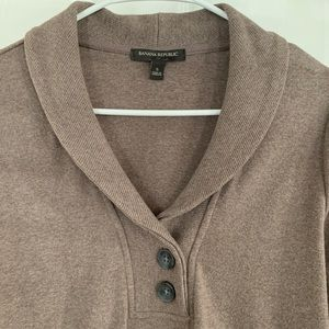 Banana Republic Sweaters - Banana Republic Collared Pullover Sweater